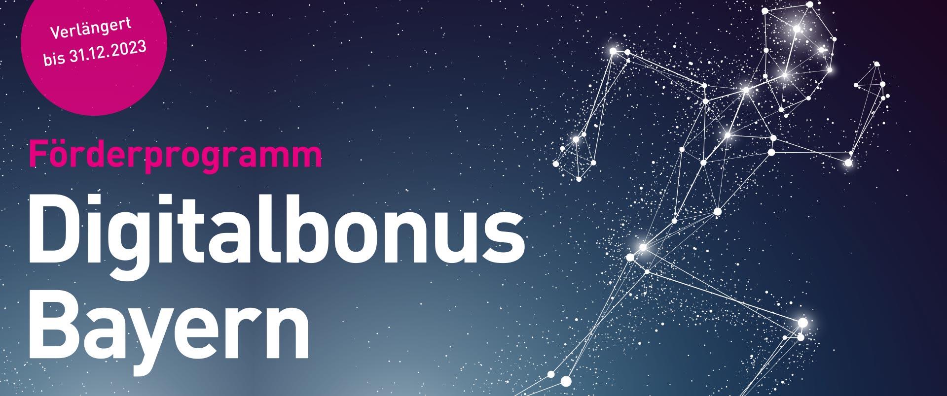 Digitalbonus Bayern